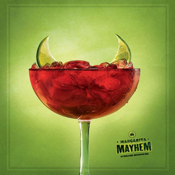 Margarita Mayhem Print Ad