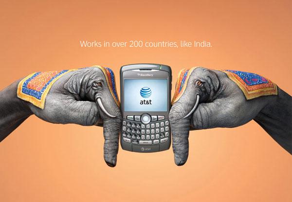 AT&T Wireless International Roaming Print Ad