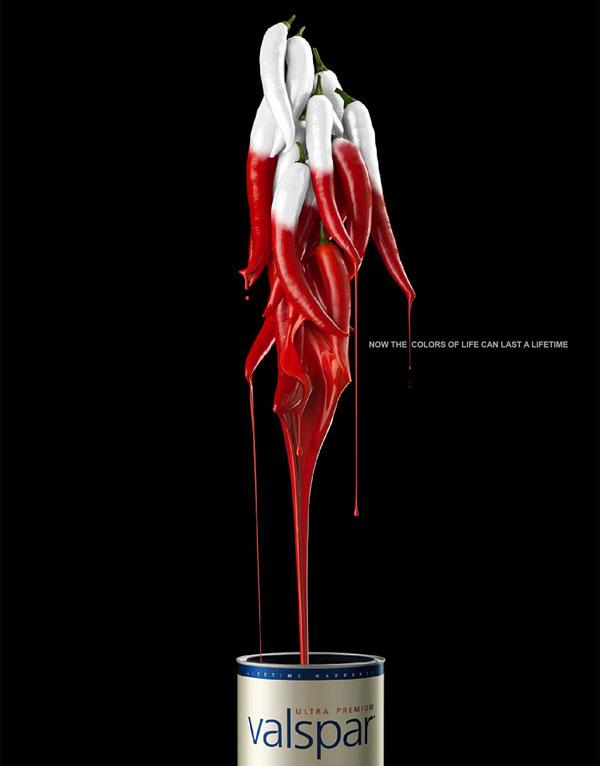 Valspar Paints Print Ad
