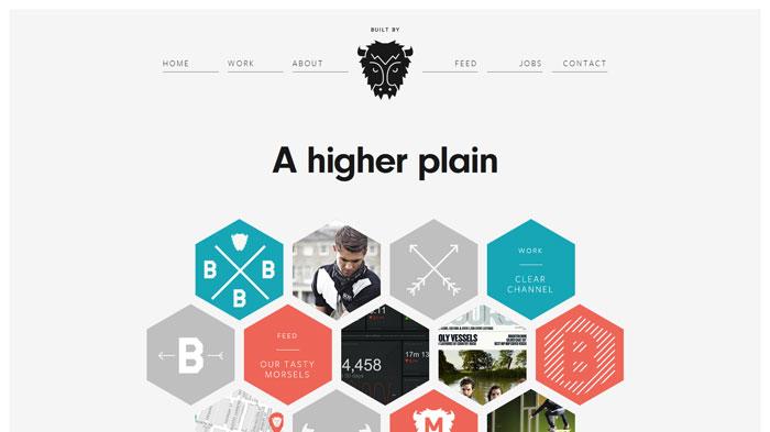 builtbybuffalo.com Flat Web Design Inspiration
