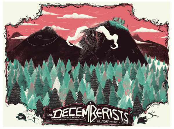 A Showcase of Creative Gig Posters 16