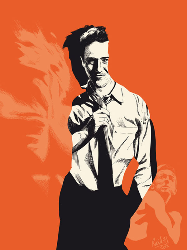 Fight club Print Design Inspiration