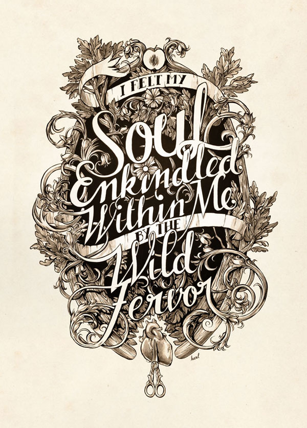 Soul Enkindled Print Design Inspiration