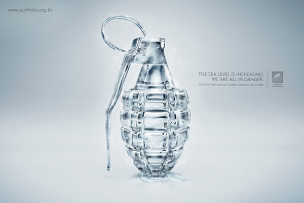 The Sea level is increasing. We are all in danger Print Advertisement