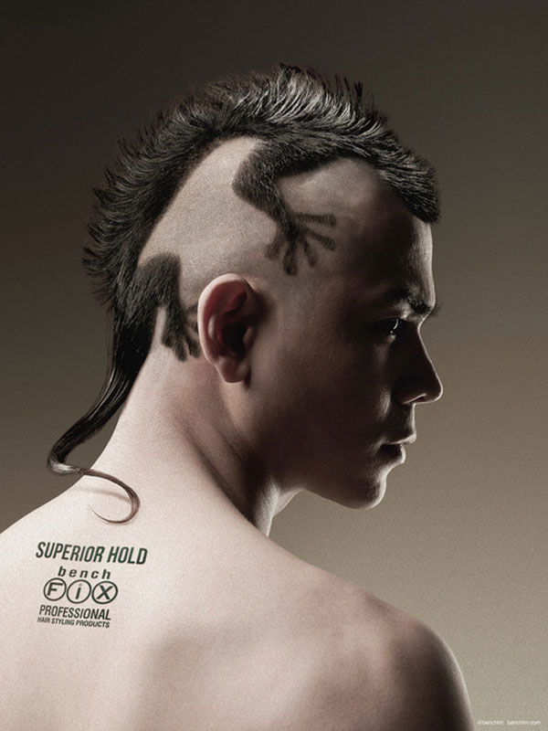 Bench Fix Hairstyling Products  Print Advertisement