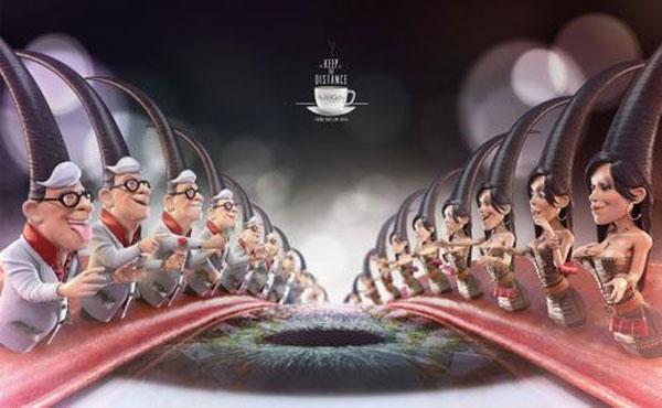 Café BonoGrão Print Advertisement