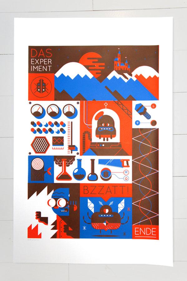 Screenprint - Das Experiment Netherlands Design Inspiration