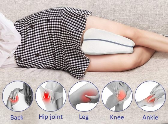 knee pillow for sleeping with contour