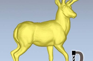 Artcam deer relief file free download for cnc