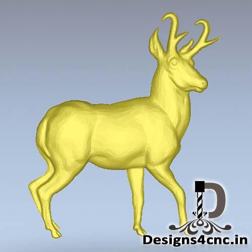 Artcam deer relief file free download for cnc