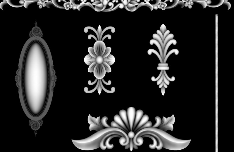 3d grayscale images free download