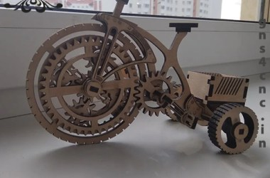KID MINI BICYCLE CNC FILE