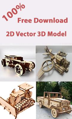 free 3d models for cnc laser machine