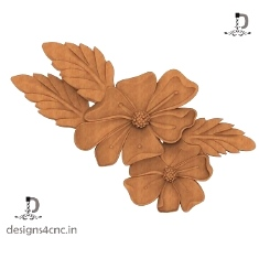 FLOWER DESIGN STL + RELIEF FILE FOR FREE