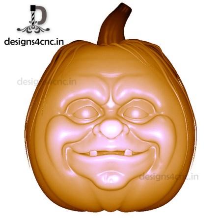 pumpkin 3D MODEL FOR PRINTING FILE