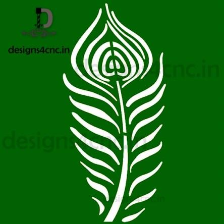 Mor Pankh Door Cutting Vector Design