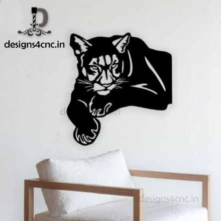 tiger vector logo dxf file for free
