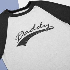 Priceless Daddy T Shirt Design - Daddy SVG Baseball Tail Design