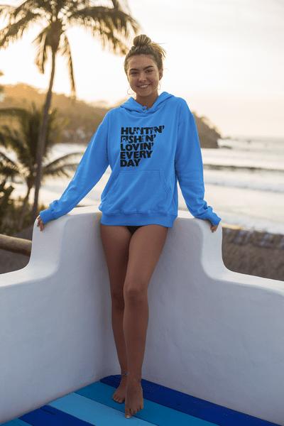 Huntin' Fishin' Lovin' Every Day T-Shirt Design
