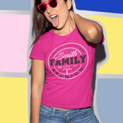 People to Annoy Family Reunion Custom T-Shirt Design Template