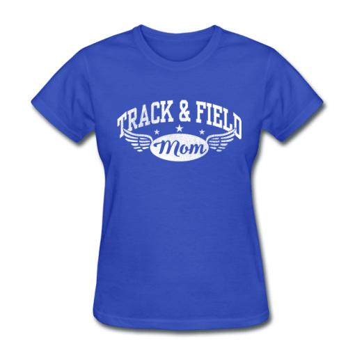 Track & Field Mom T-Shirt Design