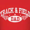 Track and Field Dad Shirt Design