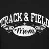Track and Field Mom Shirt Design