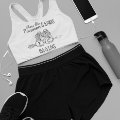 T Shirt Print Design Where the pavement ends XC begins cross country t-shirt design sports bra
