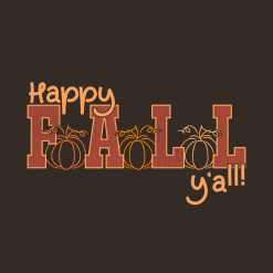 Happy Fall T-Shirt Design