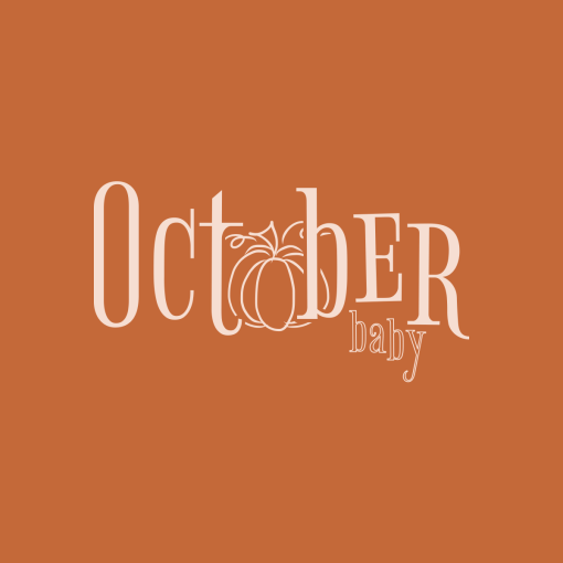 October Baby Fall T-Shirt Design