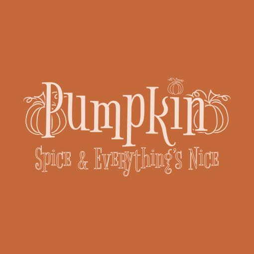 Pumpkin Spice and Everythings Nice merch ready fall autumn t-shirt Design
