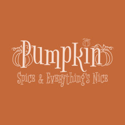 Pumpkin Spice and Everythings Nice merch ready fall autumn t-shirt Design