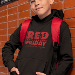 RED Friday Suppor our Military Remember Everyone Deployed stars flag distressed vector hoodie graphic design