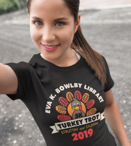 Turkey Trot T Shirts Design Template