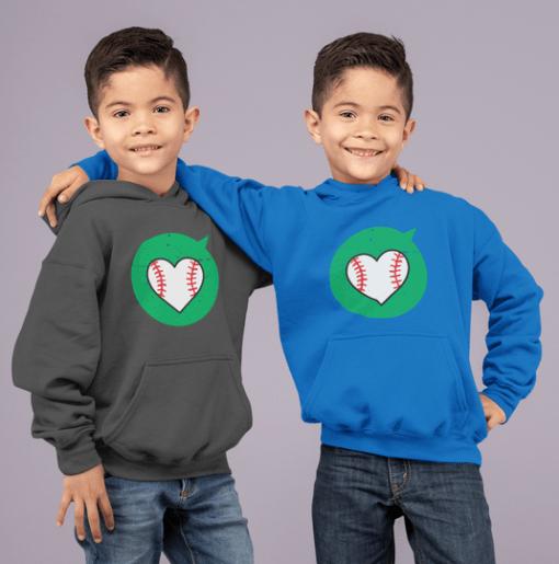 Valentine T Shirts Heart Sports Love Baseball T-Shirt Designs Print hoodies