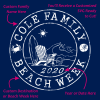 Custom Family Vacation SVG Beach T Shirt Design - Personalized Custom SVG Cutting Design