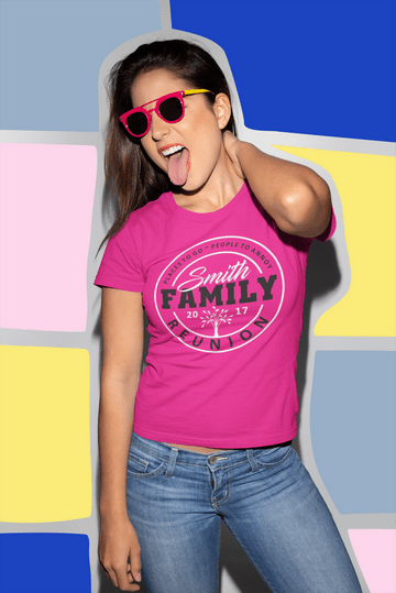 Family Reunion SVG T Shirt Design - Personalized Custom SVG - Places to Go People to Annoy
