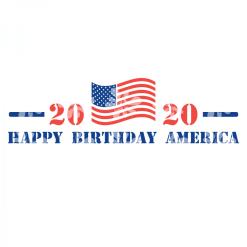 Patriotic T-Shirts USA SVG Design Bundle - Made In America 4th Of July SVG T Shirt Designs Happy Birthday America SVG 2020