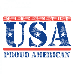 Patriotic T-Shirts USA SVG Design Bundle - Made In America 4th Of July SVG T Shirt Designs Made in the USA