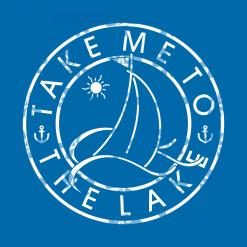 Sailboat T Shirts Design - Take Me To The Lake - Nautical Boating Apparel Sailboat SVG Design