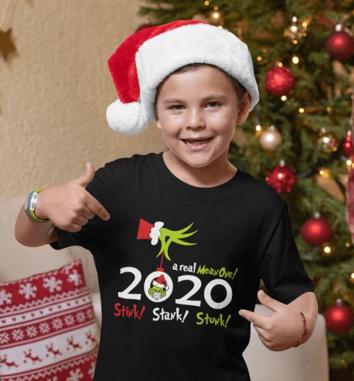 Christmas 2020 Stink Stank Stunk - Funny Grinch Pandemic SVG T Shirt Design