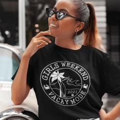 Girls Weekend Shirts - Girls Trip SVG - 2021 Girls Beach Trip Matching Vacation Shirts Design