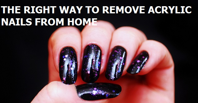 Remove Acrylic Nails