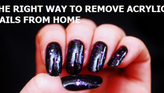 Remove Acrylic Nails Without Acetone August 2019 How To Guide