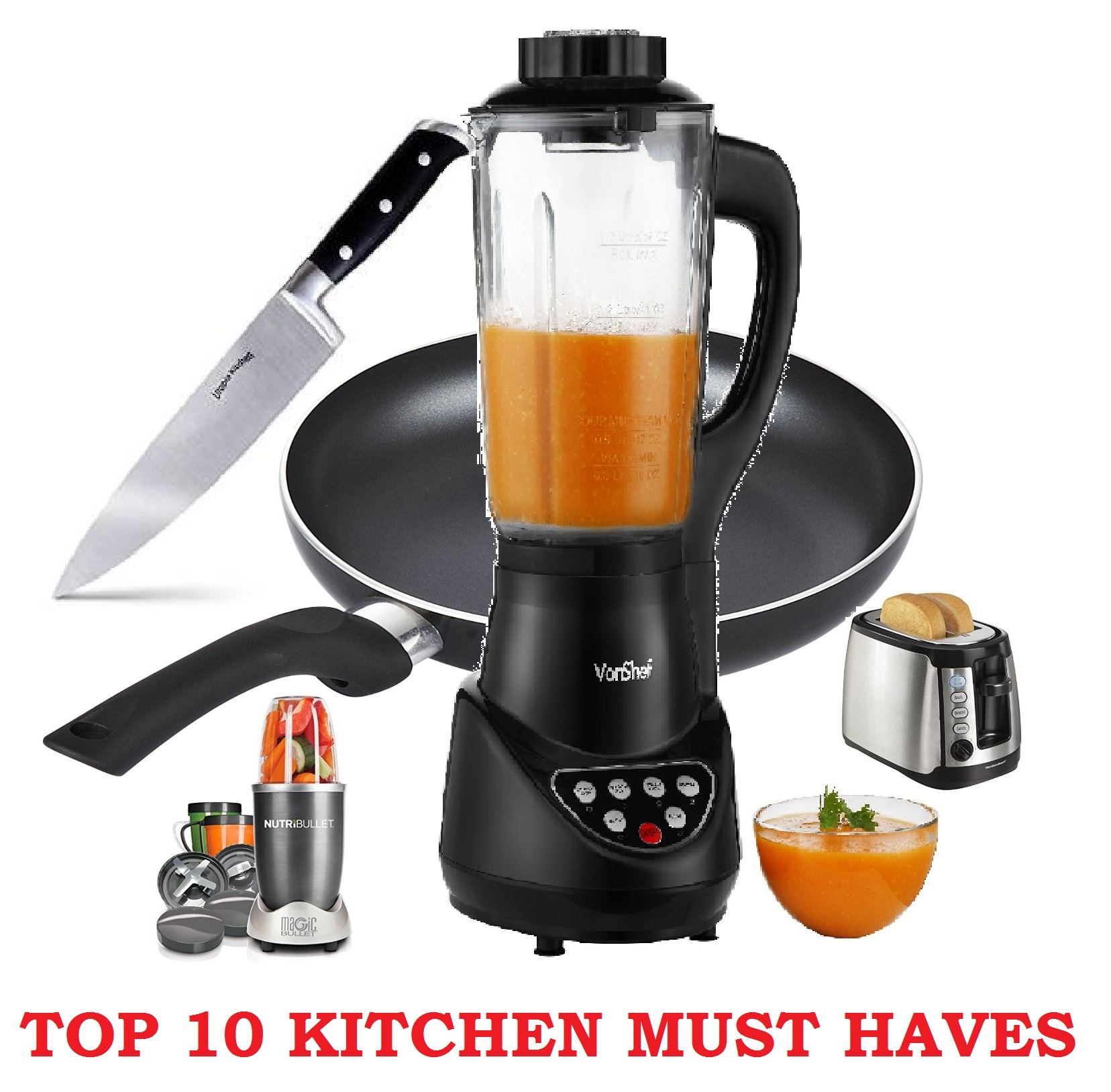 Top 10 Kitchen Must Haves - [MUST HAVE items in your kitchen]