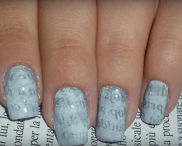 Nail stamping the famous 8 steps nail stamping tutorial how to make news paper print nail art designs perfectly 9 easy steps tutorial prinsesfo Gallery