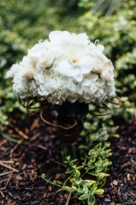 White Bridal Bouquet