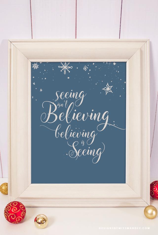 Christmas Decor Printable