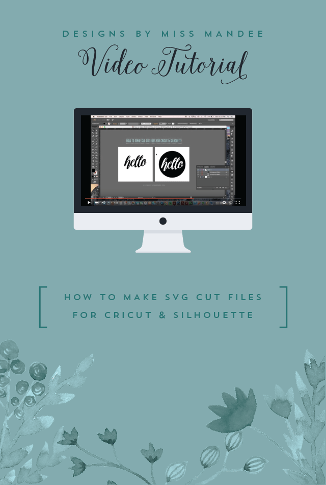 Download How to Make SVG Cut Files for Cricut & Silhouette ...