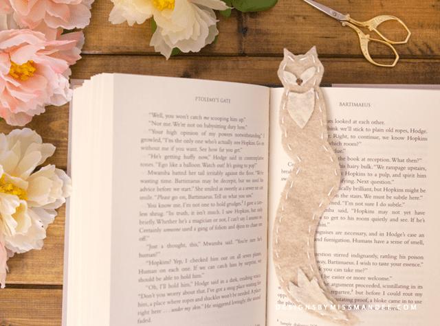 Felt Fox Bookmarks